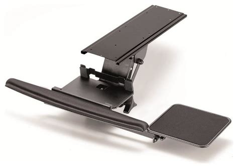 Fully Adjustable Ergonomic Keyboard Mouse Tray Lever Ergonomic Desk Accessories