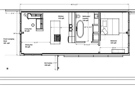 shipping container home floor plan small scale homes homes made from shipping containers