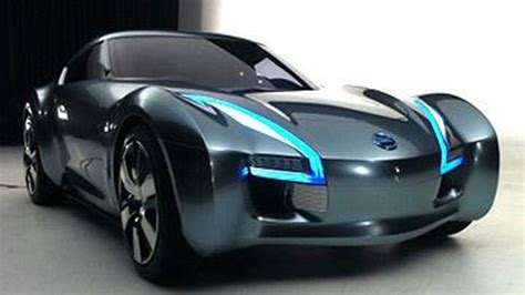 nissan electric sports car nissan reveals esflow its electric sports car pic