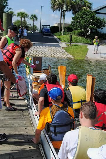 c villagers get lesson on drums and dragon boats on - Dragon Boat Racing The Villages Fl