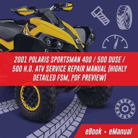 Polaris Atv 2011 Workshop Service Repair Manual