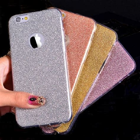 Soft Thin Glitter Bling For Iphone 6 Plus 6 T0310 ultra thin glitter bling cover for iphone 6