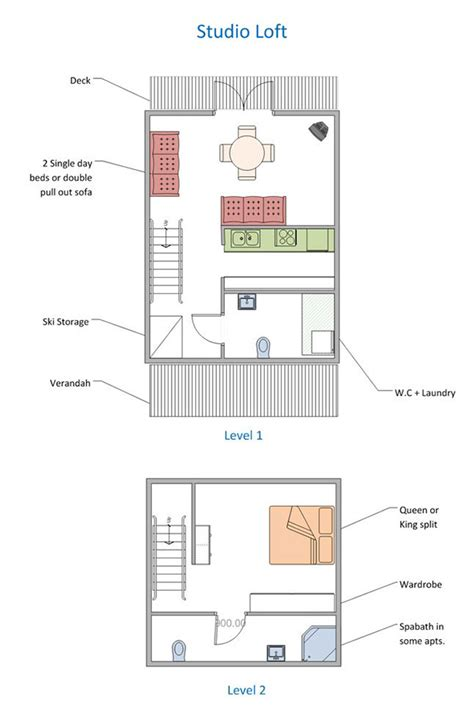 apartment floorplans  facilities  stables perisher