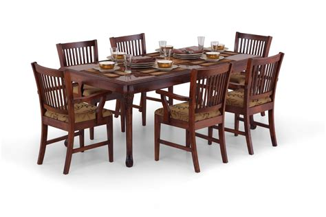 Design Of Dining Table Inlay Design Dining Table Wooden Dining Table Ekbote Furniture India