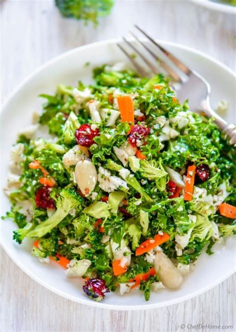 Liver Detox Salad by Cauliflower And Broccoli Detox Salad Recipe