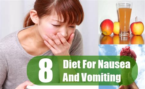 8 diet modifications for nausea and vomiting diet