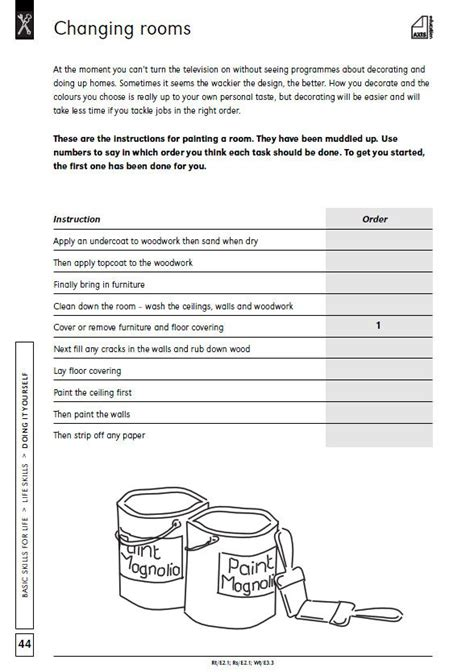 Basic Math Skills Worksheets by 17 Best Images About Daily Living Skills On
