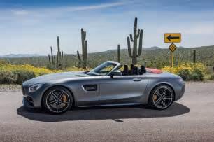 2018 mercedes amg gt c roadster side profile 07 motor trend