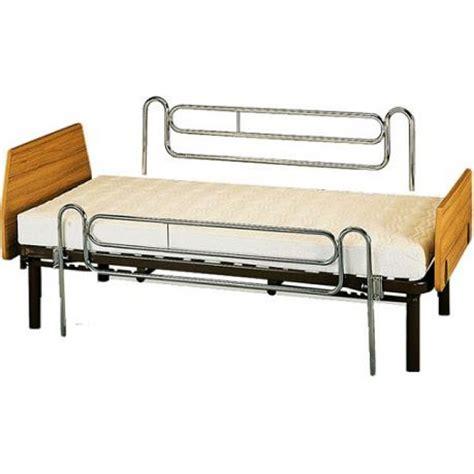 barandillas para camas articuladas par de barandillas telescopicas de cama ortoweb