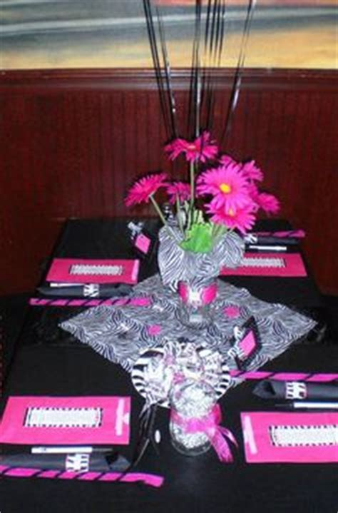 Pink Zebra Print Baby Shower Decorations by 1000 Images About Zebra And Pink Baby Shower On