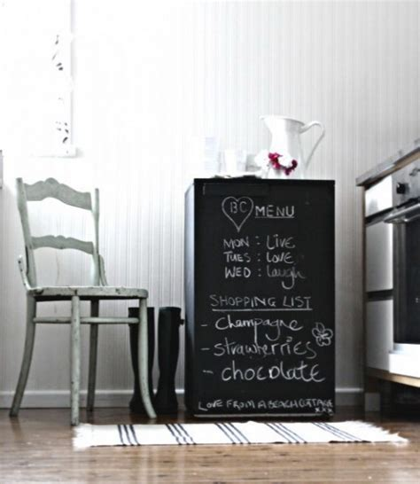 Home Decor Chalkboard | how to use chalkboard pieces for home d 233 cor 35 cool ideas