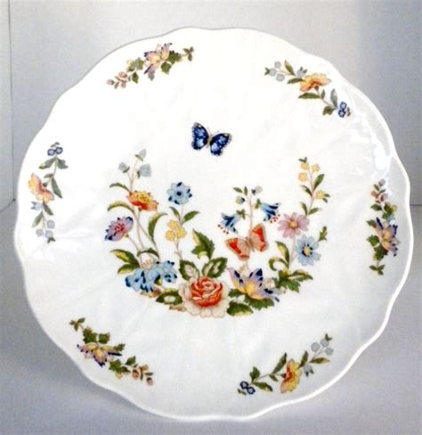Aynsley China Cottage Garden by Aynsley Cottage Garden Pedestal Cake Plate Flowered By