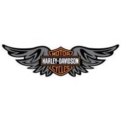 harley davidson wings vector logo free download vector