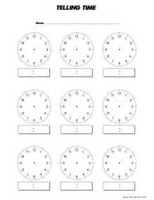blank clocks worksheet new calendar template site