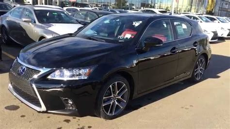 lexus hybrid 2015 new black on rioja red 2015 lexus ct 200h hybrid f sport