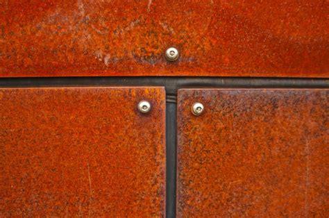 corten steel panel attachment constructpix com