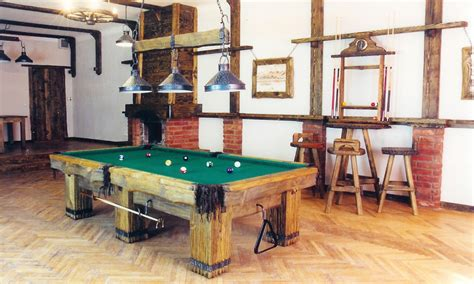 log pool table lights rustic billiards