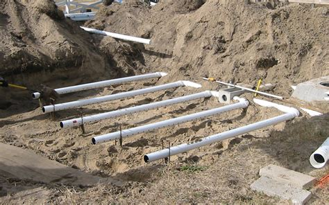 land drain layout septic tank drainfield design 96 with septic tank