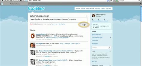 tutorial hack twitter how to write and post messages or tweets to twitter