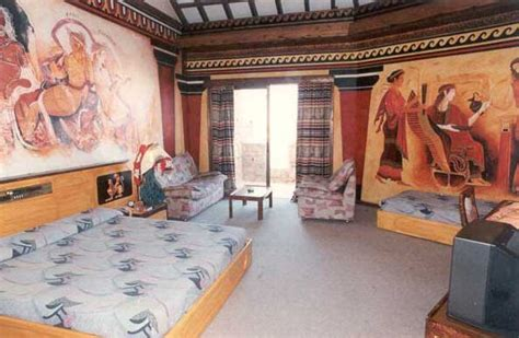 Roman Bedroom | roman hotel in pahos on the holiday island of cyprus