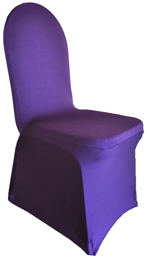 Spandex Chair Cover by Eggplant Spandex Stretch Banquet Chair Covers Sale