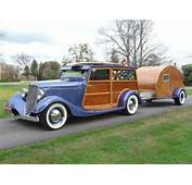 1934 Ford 'Woody' Station Wagon To Be Auctioned
