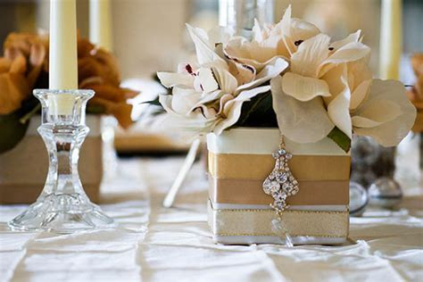 Wedding Ideas by Color: Gold and Silver   BridalGuide