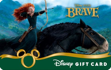What Can You Use Disney Gift Cards On - aim for your dreams with the new brave disney gift card 171 disney parks blog