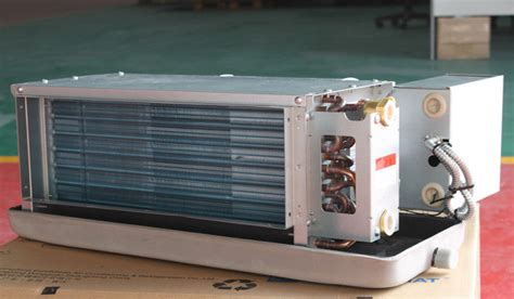 chilled water fan coil unit ducted chilled water horizontal fan coil unit high esp 100pa