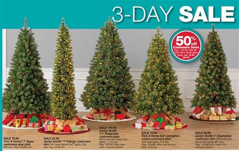 jaclyn smith 75 ft ridgedale pine multi color lit christmas tree kmart pre lit trees webdesigninusa