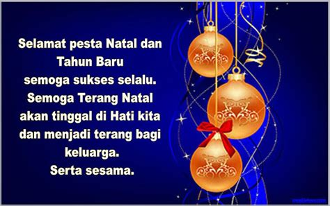 membuat kartu ucapan natal dan tahun baru contoh kartu ucapan selamat hari natal dan tahun baru terbaru