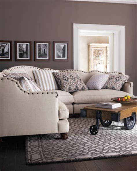 haute house sofa haute house keytone linen sectional traditional