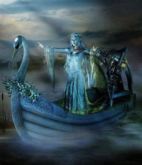 swan boats gif nature s fairy nymphs magical elves sprites pixies and