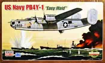 Minicraft Pb4y 1 Usn With 2 Marking Options Model Kit 1144 Scale minicraft 11637 1 48 us navy pb4y 1 quot easy quot