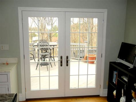 swinging patio door plastpro door plastpro fiberglass fir grain quot craftsman