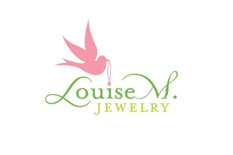 design jewelry logo louisem1 elegant logos jewerly pinterest logos