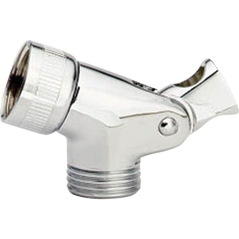 delta pin mount swivel connector  hand shower  chrome