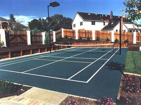 Backyard Tennis Courts by Southwest Greens Courts Sports Photos 187 Tennis Courts