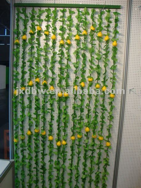 plastic beaded curtains latest natural plastic flower bamboo bead curtain fashion
