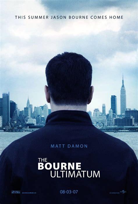 matt damon the bourne series bourne ultimatum the 2007 poster freemovieposters net
