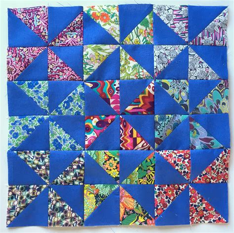 Modern Quilting Bee by Liberty Quilting Bee Blocks Blossom Quilts