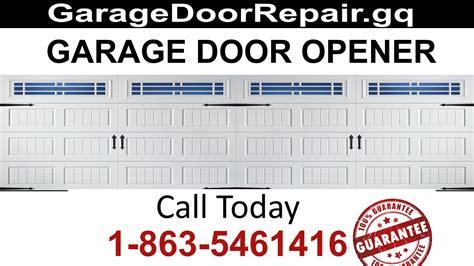 Garage Door Service Miami by Miami Dade Garage Door Standards