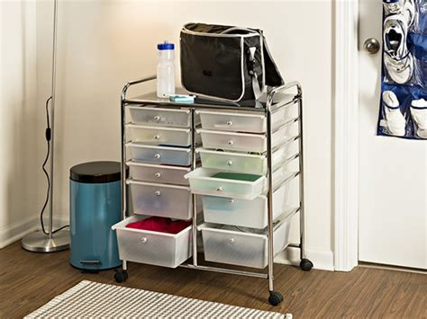 12 drawer rolling cart aldi honey can do 12 drawer rolling cart