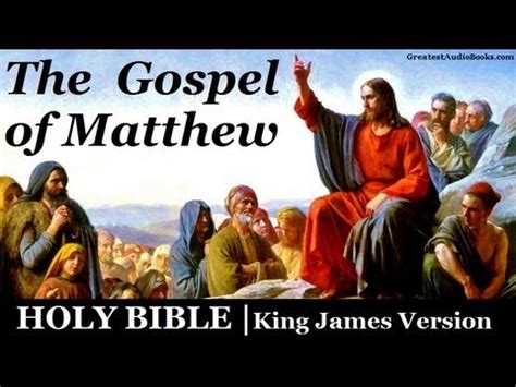 the bible great again the gospel of books holy bible gospel of matthew audio book greatest