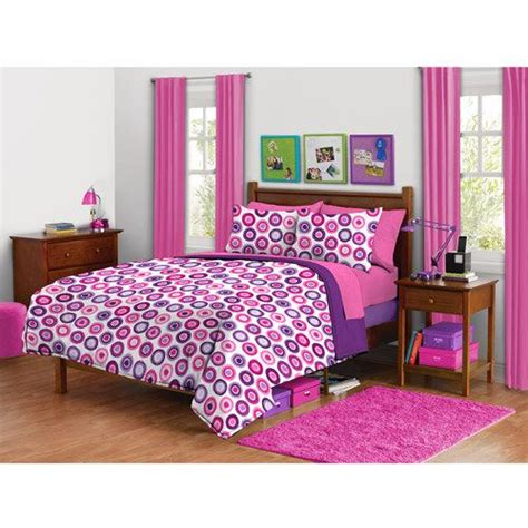 doodle bed in a bag walmart your zone doodle circle bedding comforter set