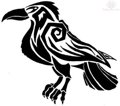 awesometattoos celtic crow tattoo