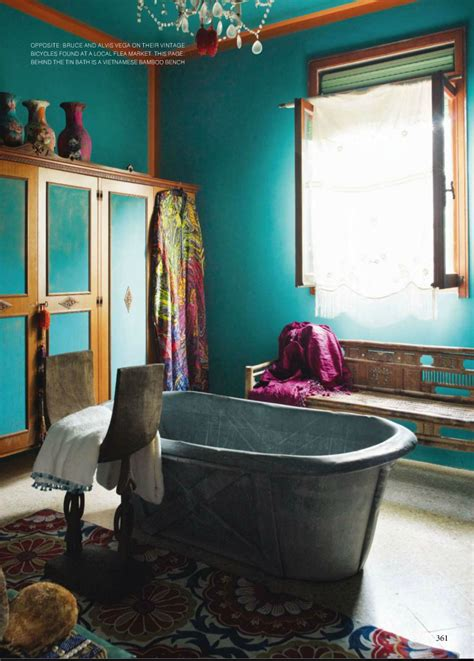 Bohemian Style Bathroom by 25 Awesome Bohemian Bathroom Design Inspirations