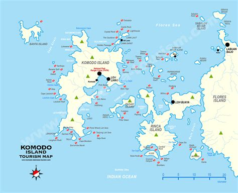 map islands komodo island map www imgkid the image kid has it