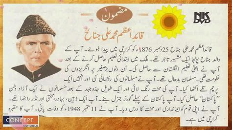biography of muhammad ali jinnah in urdu youme quaid i azam day 25 december essay speech in urdu