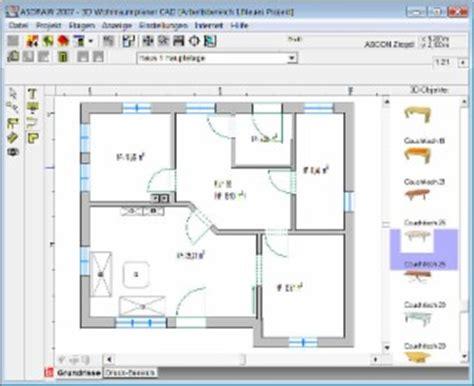 entwerfen eines grundrisses 3d wohnraumplaner cad windows bei